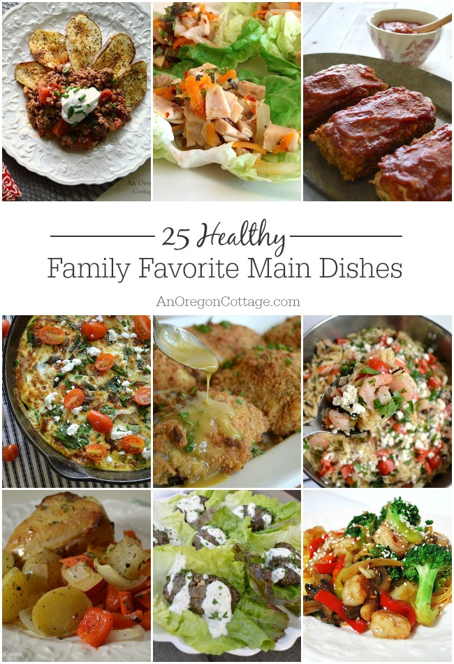 These 25 healthy dinner ideas are tried-and-true family favorites that we make again and again!