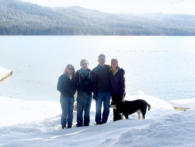 Family Traditions- winter snow trips