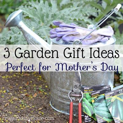 3 Garden Gift Ideas via Frugal Family Home