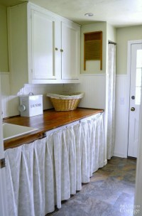 Cottage Farmhouse Laundry-Mudroom Makeover | An Oregon Cottage