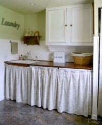 Cottage Farmhouse Laundry-Mudroom Makeover
