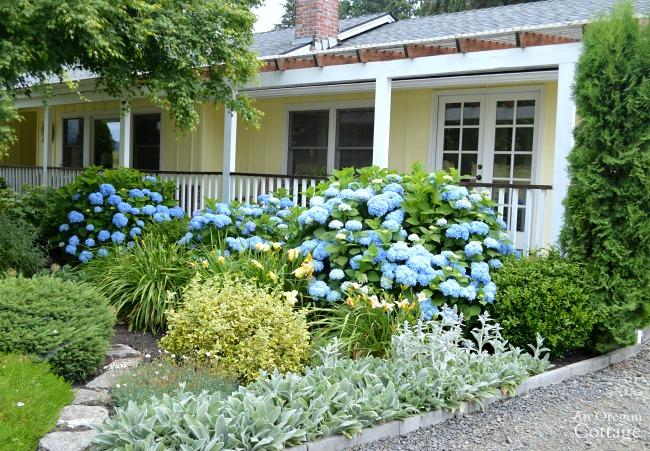 Pergola porch garden-former garage and driveway
