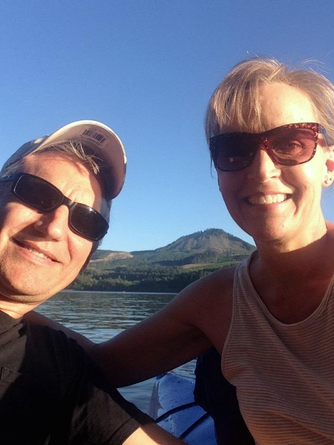 Selfie on Dexter Lake