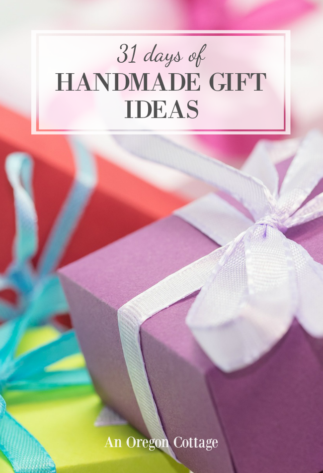 31+ handmade gifts for everyone on your list - kids, men, women, and family gifts. Find all levels of DIY projects that are perfect for Christmas gifts, birthday gifts, and more!