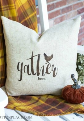 Stenciled Pillow Cover & More -31 Days of Handmade Gifts
