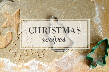 Christmas recipes on An Oregon Cottage