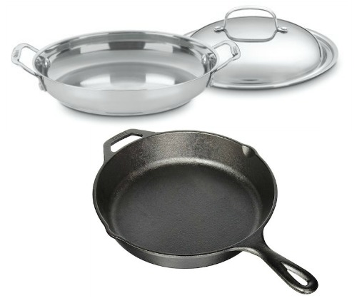 Essential healthy kitchen cookware