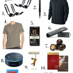 Favorite things gift guide for men- the things he will truly love and use.
