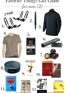 Favorite Things Gift Guides for Men