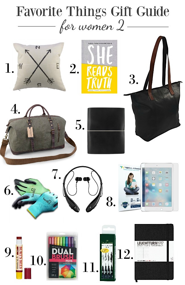 Favorite things gift guides for women - budget-friendly gifts for women that they will truly use & love