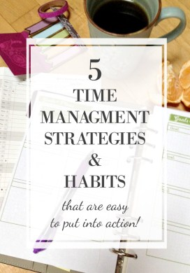 My Top 5 Time Management Strategies