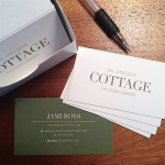 An Oregon Cottage business cards