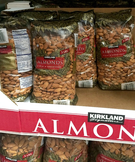 Costco must-buy items | almonds