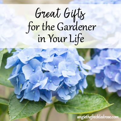 Gifts for gardeners at The Freckled Rose