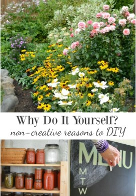 Why Do It Yourself? 6 Non-Creative Reasons to DIY