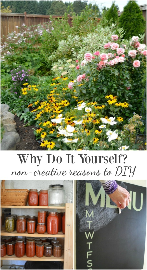 Why do it Yourself-6 non-creative reasons to DIY