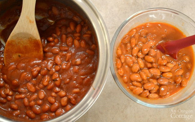 Canned vs homemade Ranch Style Beans