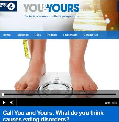 BBC Radio 4 Eating Disorders You and Yours