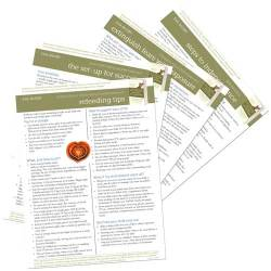 Free help sheets for parents of a child with an eating disorder