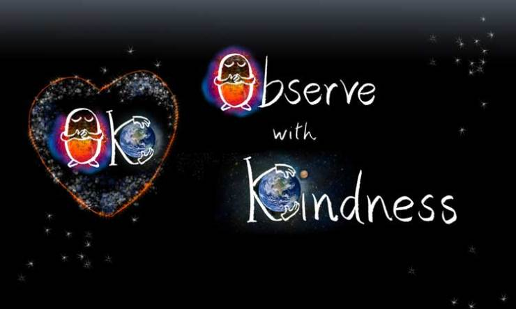 Observe with Kindness: OK - two step to mindfulness and compassion