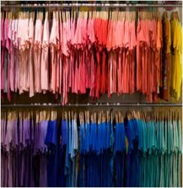 one outfit color closet