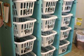 organized laundry