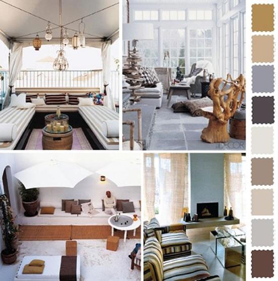 Ideias e cores para decorar o jardim e o exterior da casa