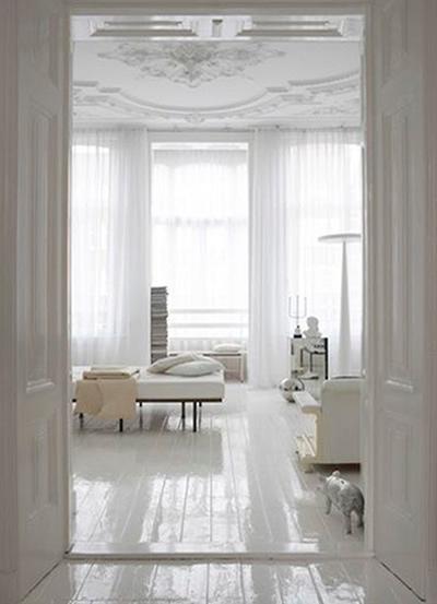 Decorao da casa em tons de branco  A Nossa Vida
