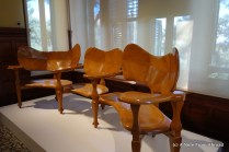Example of furniture Gaudi designed