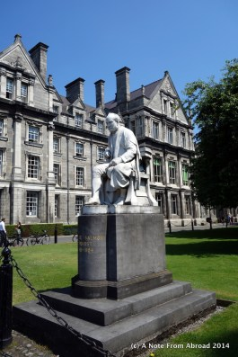 Statue of George Salmon, former Provost