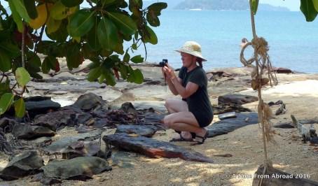 Nicola capturing the scene