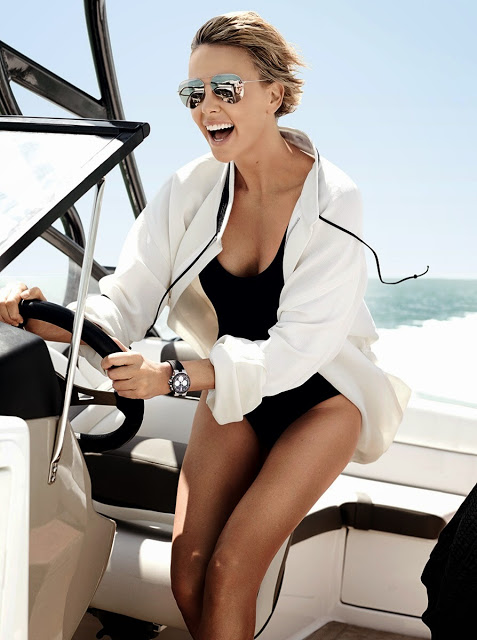 Charlize Theron in VOGUE