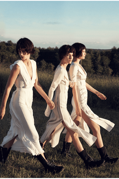 Elusive White Dresses