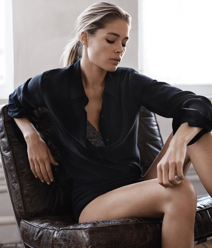 Doutzen Kroes in WSJ. Magazine