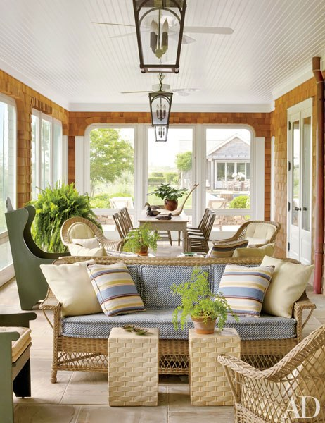 A Chic Hamptons Estate