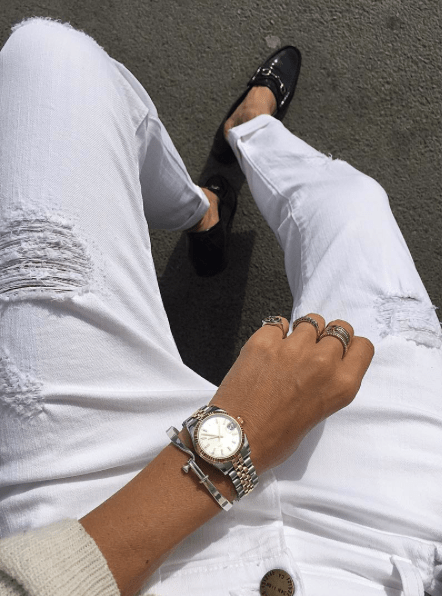 Giving My White Jeans A Rest