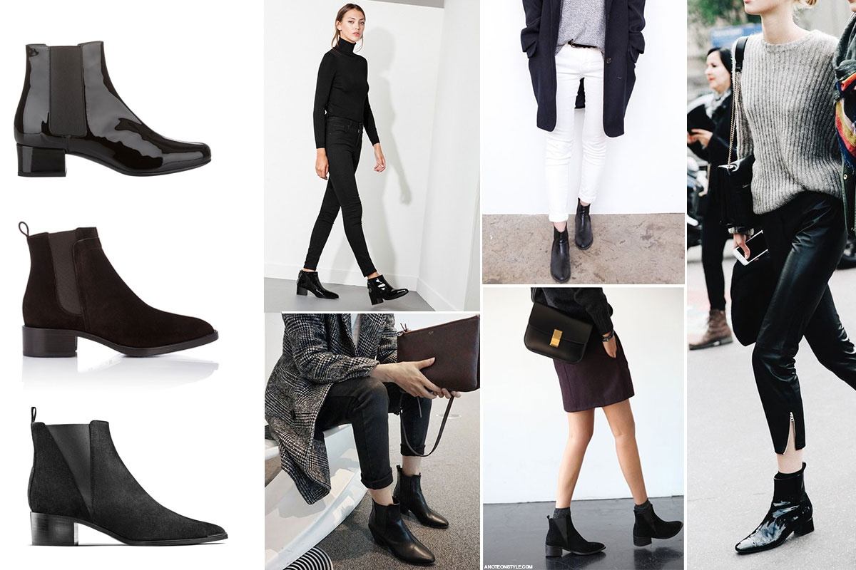 A Closet Staple : Low, Ankle Boots