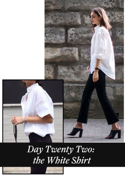 Counting Down To Christmas – Day 22 – The White Shirt