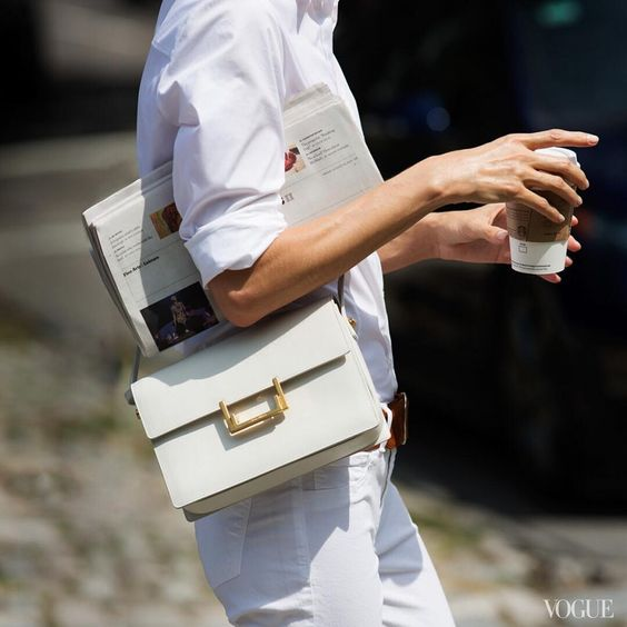 Classic, Timeless And Chic in White