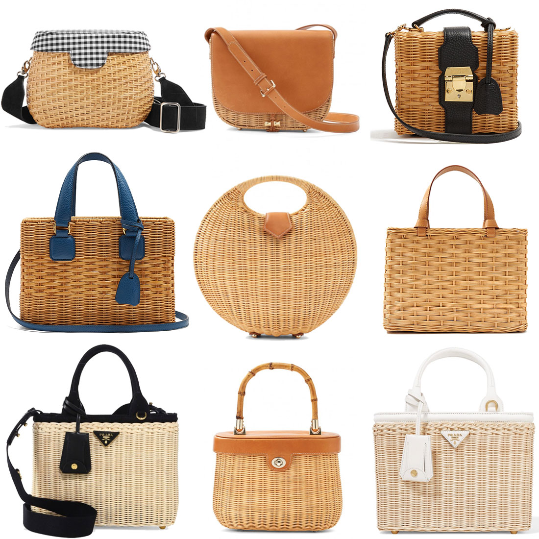 The Charming Basket Bag