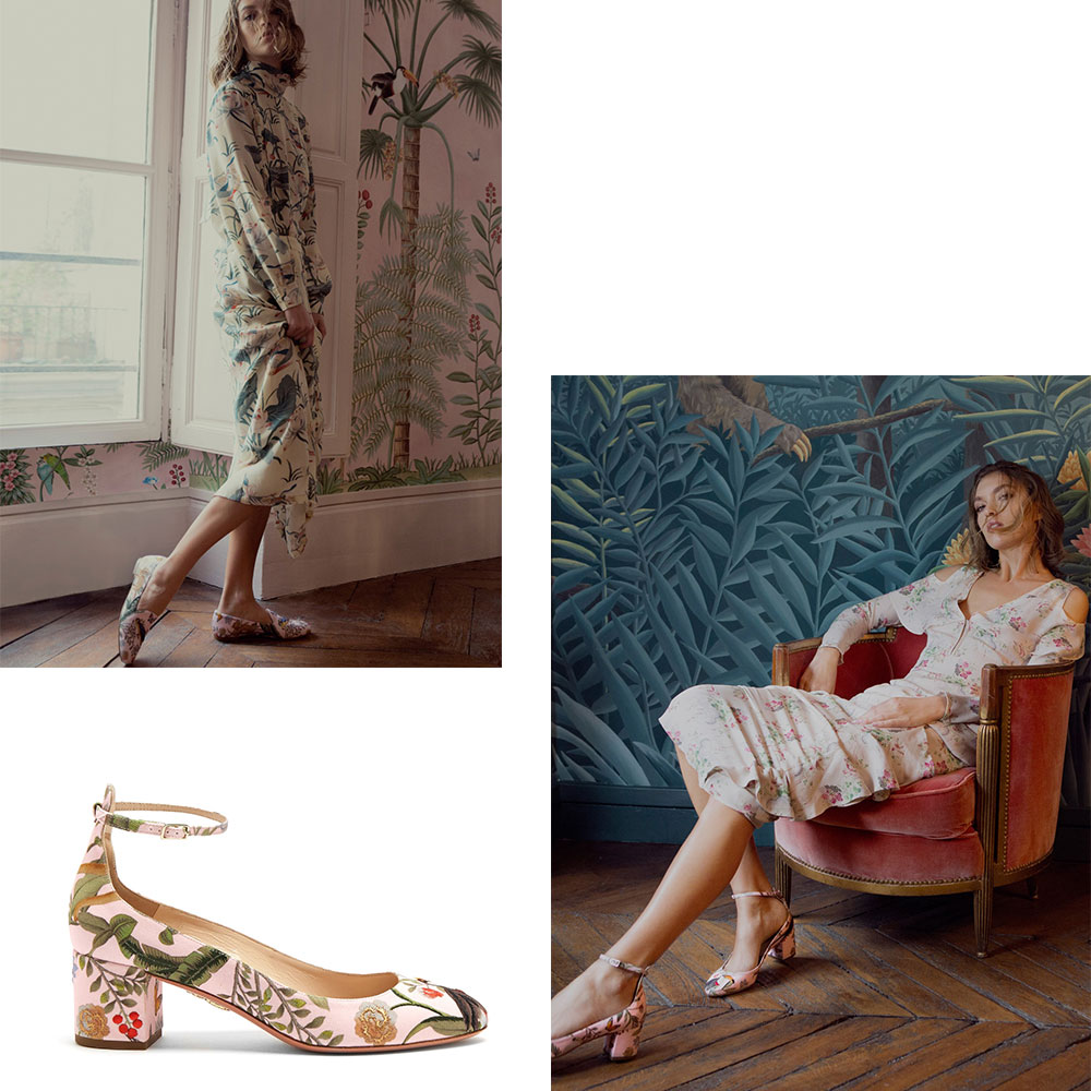 A Beautiful Collaboration: Aquazzura for De Gournay