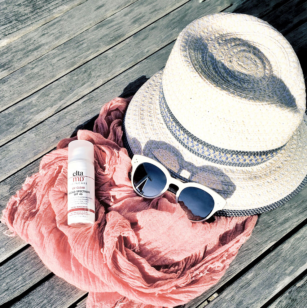 My Four Sun Protection Essentials