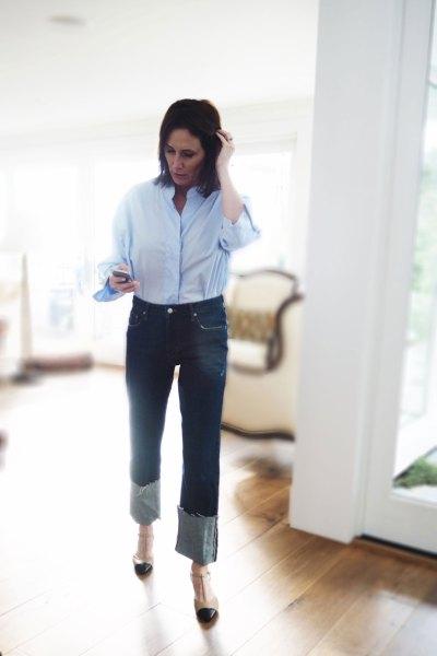 Fall Denim: The Zara Vintage Straight Jean