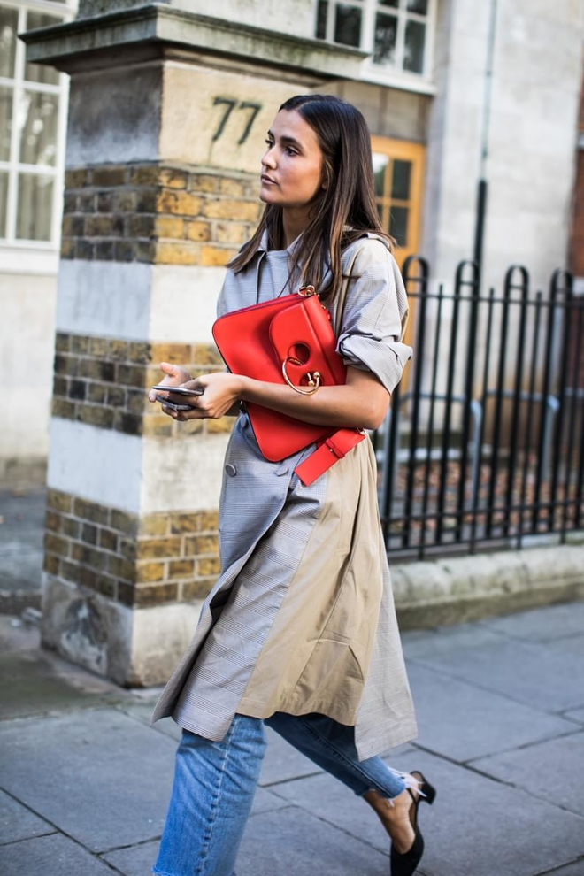 A Bright Red Bag