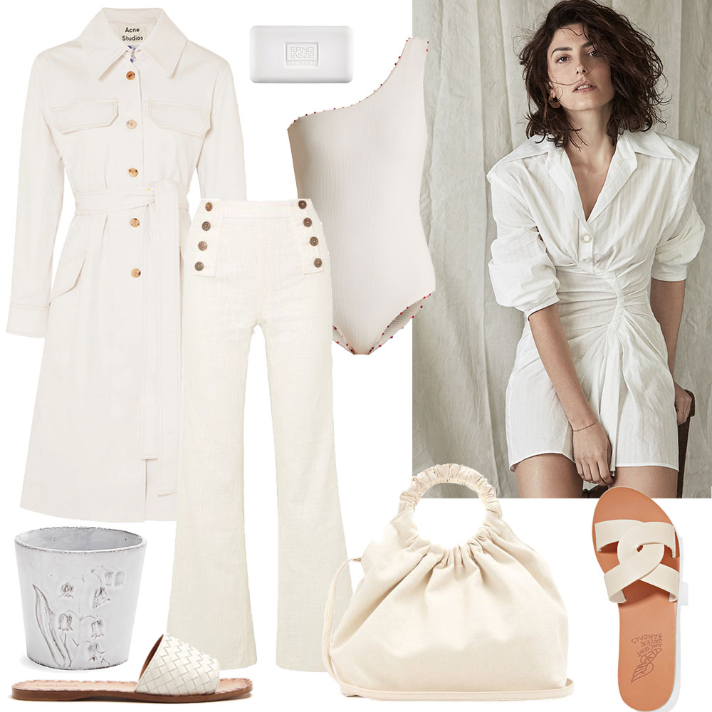 This Week's Items: White Pieces I Want