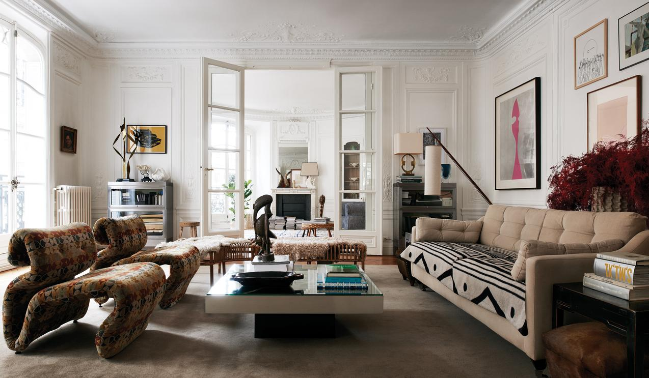 Clare Waight Keller's Parisian Home