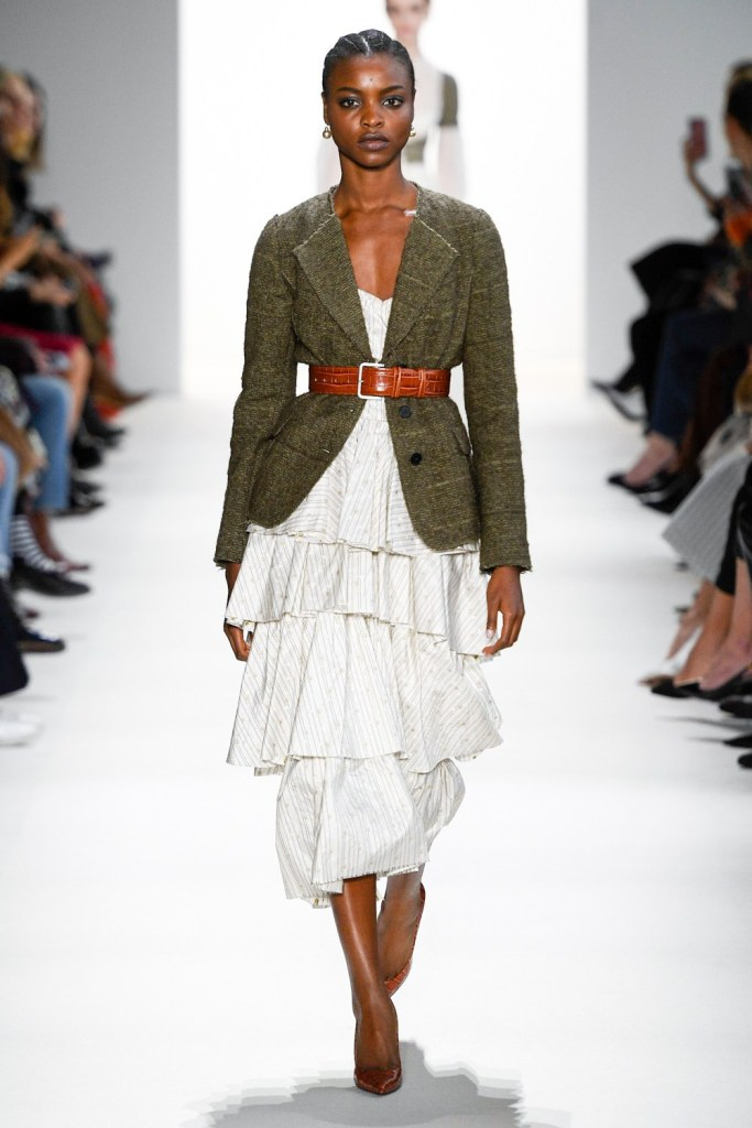 Fall 2019 RTW Brock Collection belted blazer