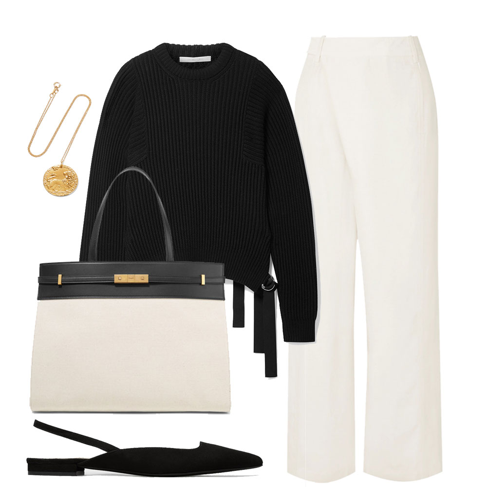 Capsule Collection – The White Pant
