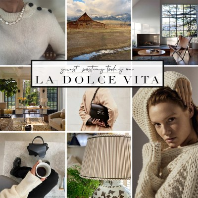 GUEST POST LA DOLCE VITA - A NOTE ON STYLE