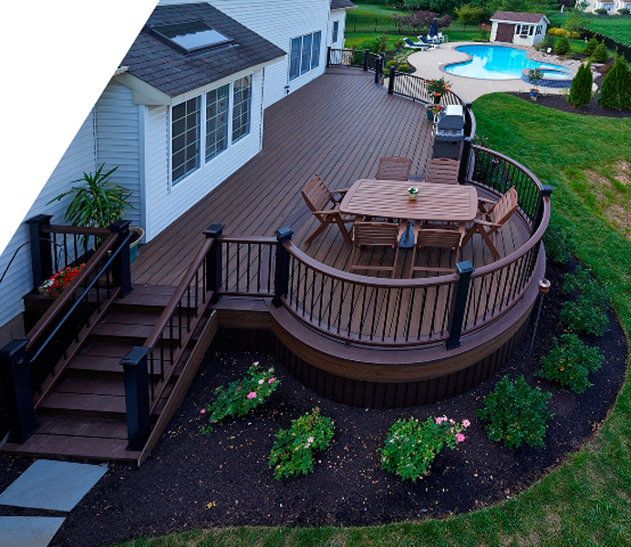 Amazing Trex Deck Designs by Amazing Decks